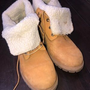Womens Teddy Timbs